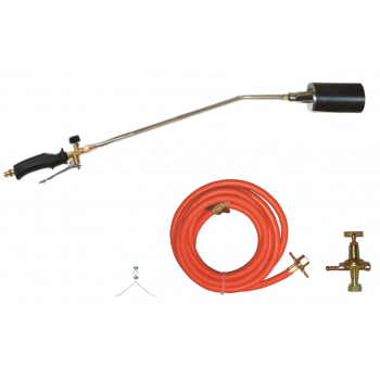 Roof torch, 91cm, gas hose,...