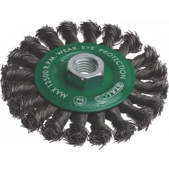 Circular brush STALCO 100mm...