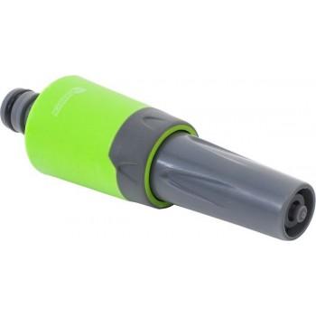 Adjustable hose end nozzle