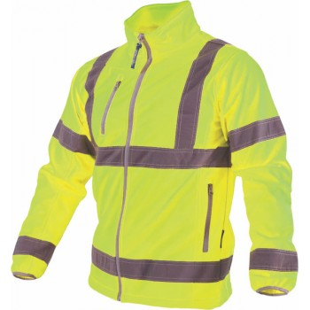High-vis softshell jacket...