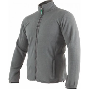 Fleece jacket BARRY grey, L...