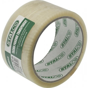 Transparent packing tape...