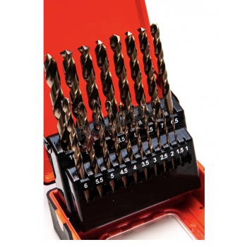Drill bits for INOX set PRO...