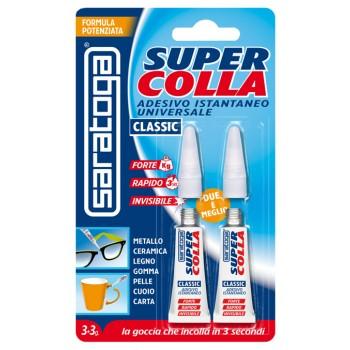Super glue SUPERCOLLA 3+3 g.