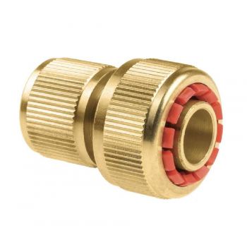 Hose quick connector - stop...