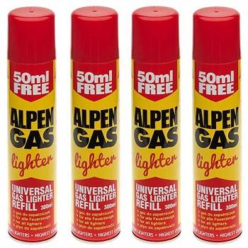 Butan gas ALPEN lighter 300ml