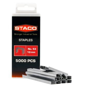Kabės STACO 53/10mm 5000vnt.