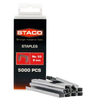 Kabės STACO 53/8mm 5000vnt.