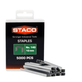 Kabės STACO 140/10mm 5000vnt.