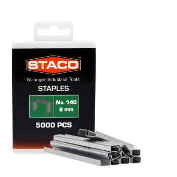 Kabės STACO 140/8mm 5000vnt.