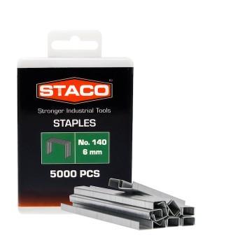 Kabės STACO 140/6mm 5000vnt.