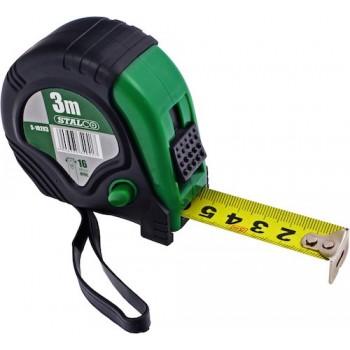 Rubber tape measure STALCO 3m
