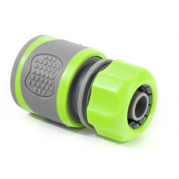 """Hose connector TPR coated 1/2"""""""