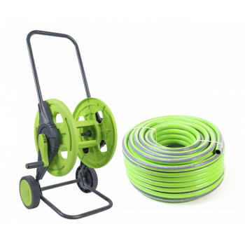 Garden hoses and trolleys